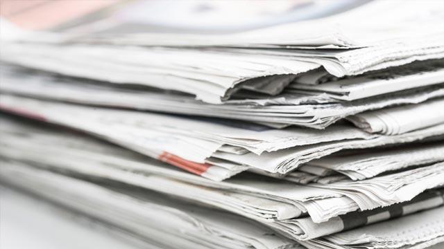 Newspaper-krant-huis-aan-huis