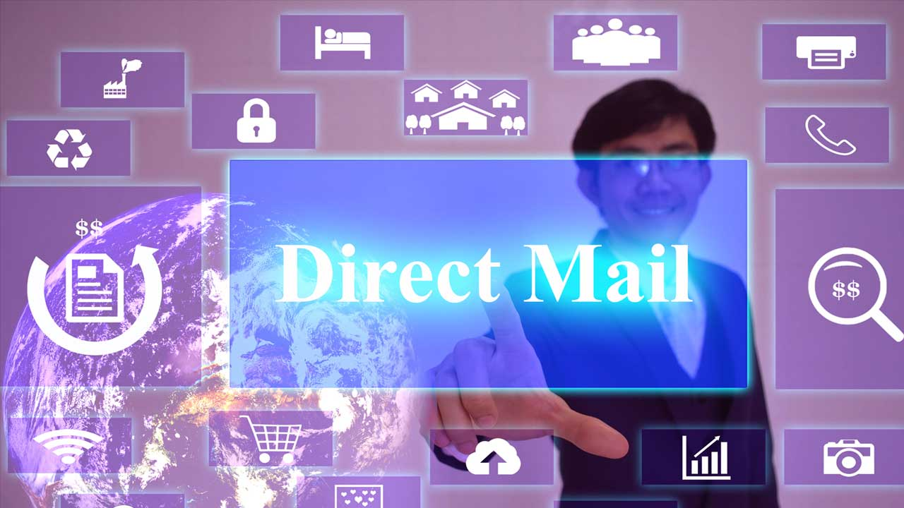 Direct-Mail-man-pointing-icons